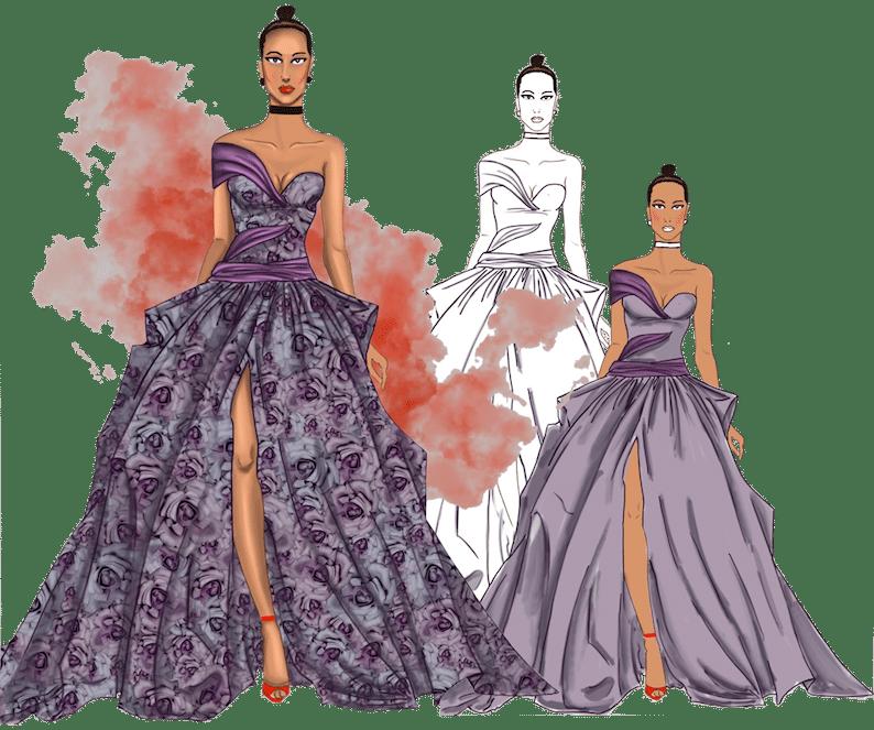 Creative And Fashion Illustration Course Martwayne
