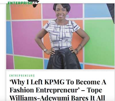 Why I became a fashion entrepreneur