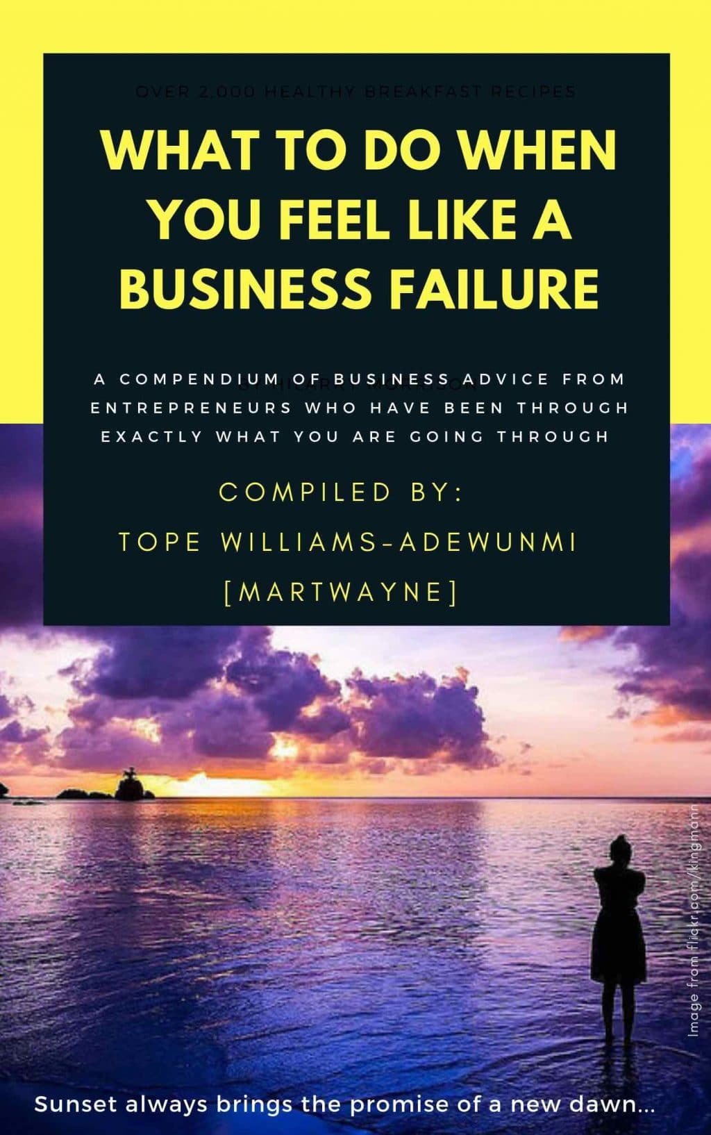 what to do when you feel like a business failure ebook