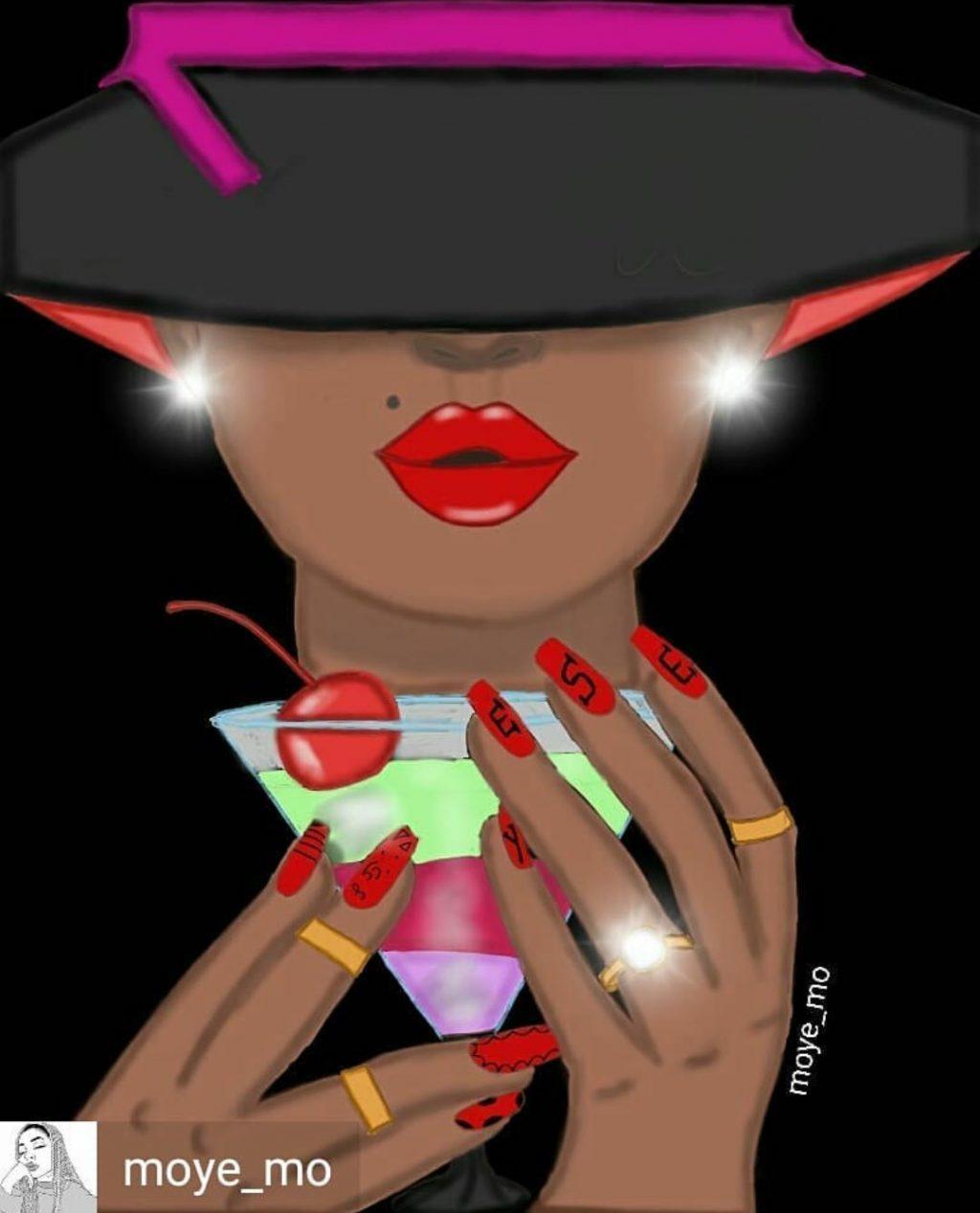 Fashion Illustration by Martwayne Student