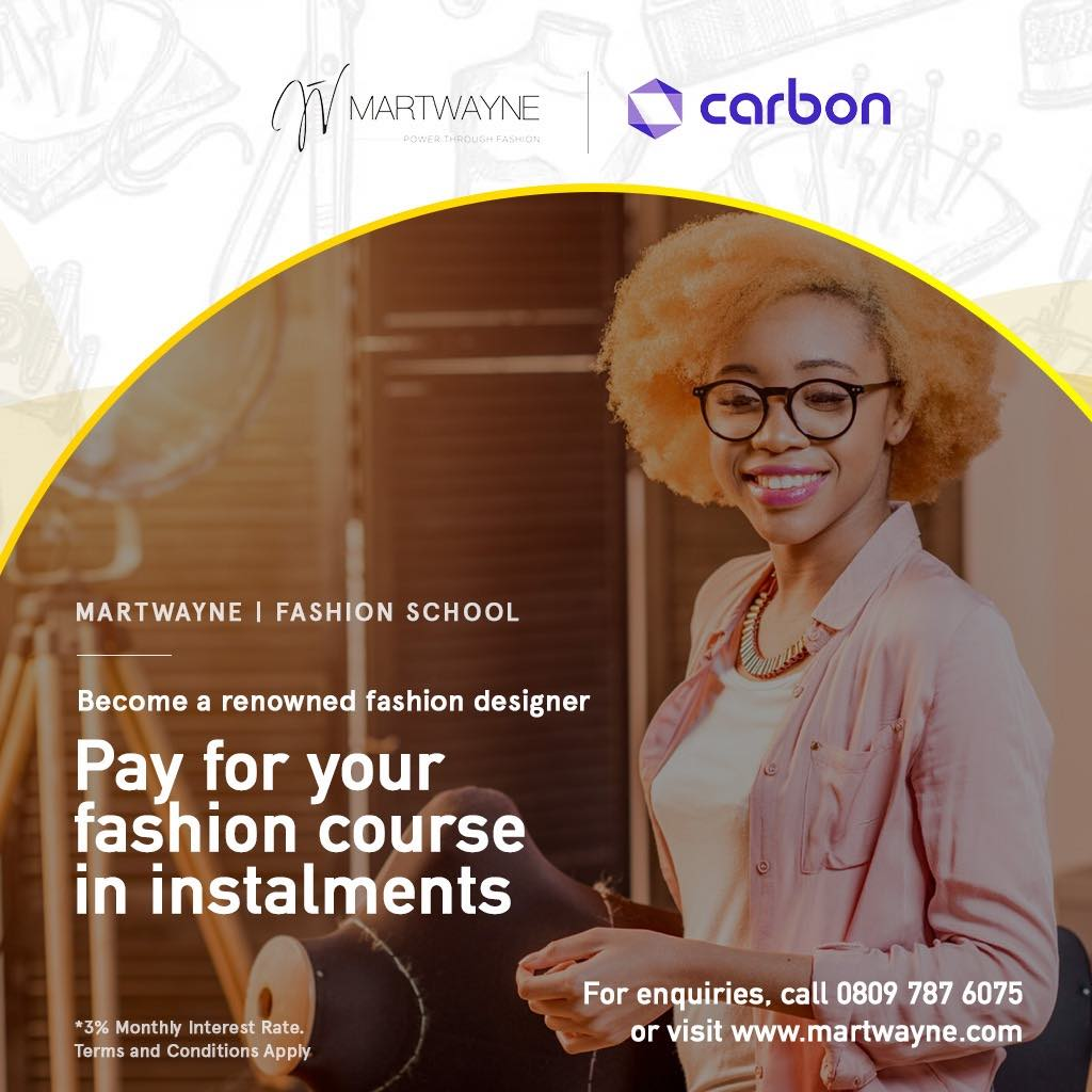 Pay for your fashion course in instalments