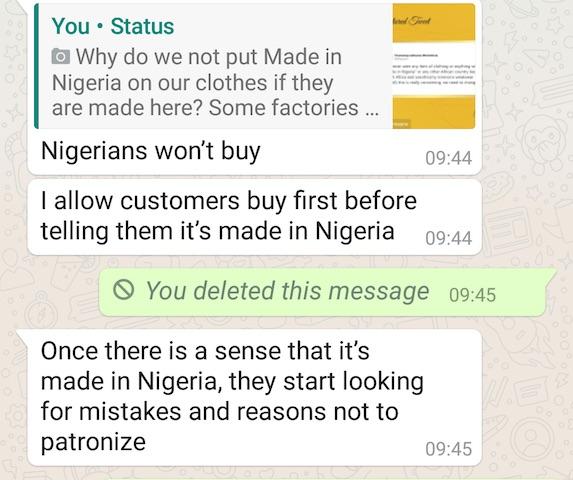 perception of made in nigeria
