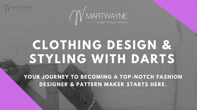 Clothing Design and styling with darts