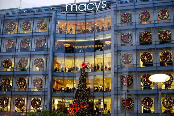 Macys display