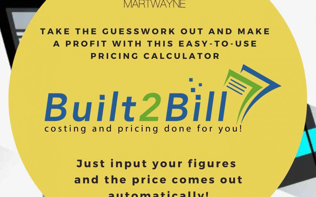 Launching the Built2Bill Price Calculator by Martwayne