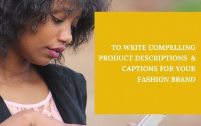 3 TIPS FOR WRITING GOOD PRODUCT DESCRIPTIONS IN 2021