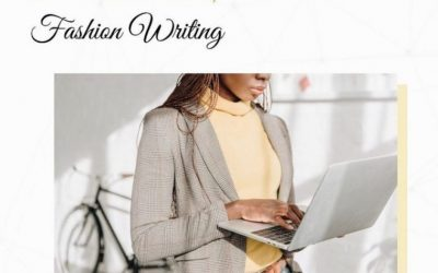 FASHION CAREERS: Fashion Writer