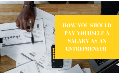 HOW YOU SHOULD PAY YOURSELF A SALARY AS AN ENTREPRENEUR (BNM #8)