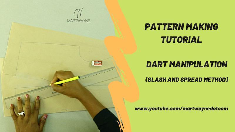 Dart Manipulation Slash & Spread  | Step by Step Youtube Video